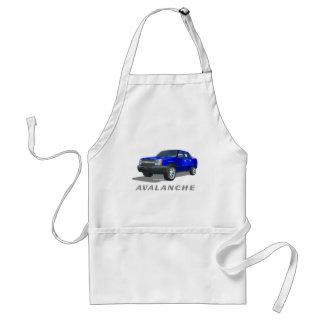 Azul de la avalancha de Chevrolet Delantales
