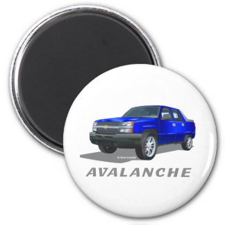 Azul de la avalancha de Chevrolet Imán De Frigorífico