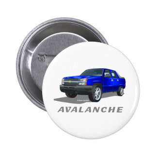 Azul de la avalancha de Chevrolet Pins