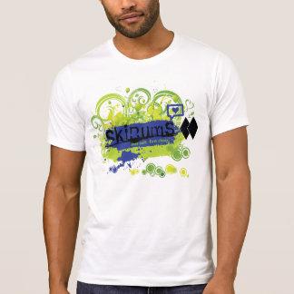 Azul de la camisa 5 de SkiBums