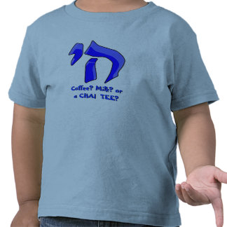 Azul de la camiseta de Chai en azul