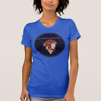 Azul de la camiseta del club de fans para las playera