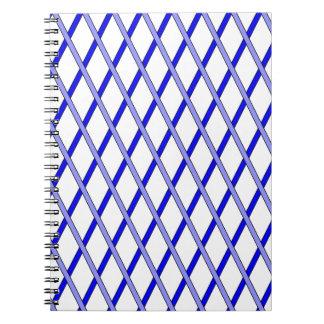 azul de la cerca libro de apuntes