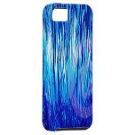 Azul de la ciudad de la malla iPhone 5 Case-Mate cárcasas