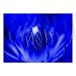 Azul de la Dentro-UNO-Flor Felicitacion
