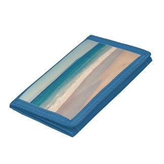 Azul de la escena de la playa de la aguamarina