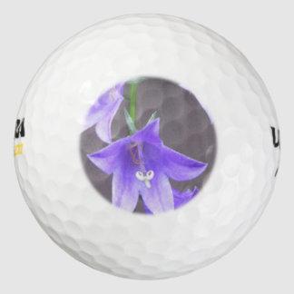Azul de la flor de Pland del jardín del Campanula Pack De Pelotas De Golf