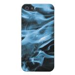 Azul de la llama iPhone 5 coberturas