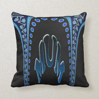 Azul de la momia almohada