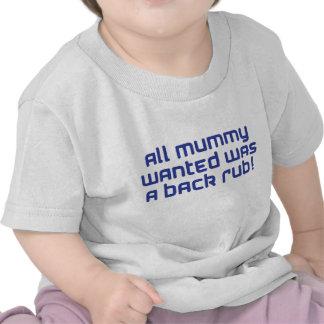 azul de la momia camisetas