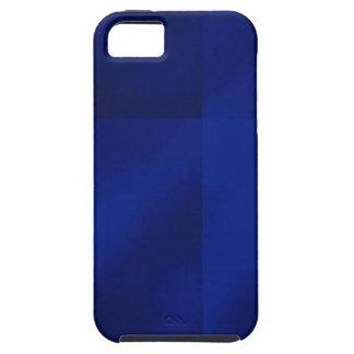 Azul de la niebla del bloque del arte abstracto iPhone 5 coberturas