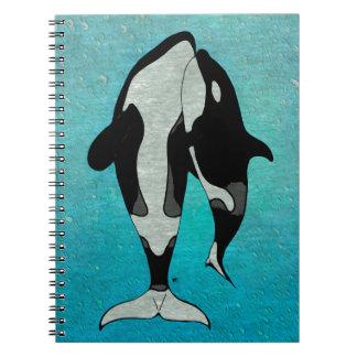Azul de la orca libros de apuntes