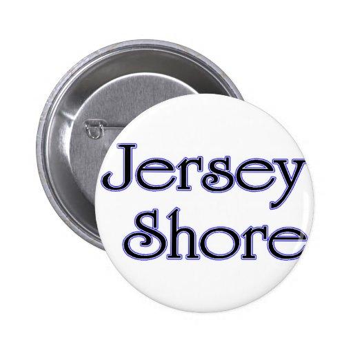 Azul de la orilla del jersey pin redondo 5 cm