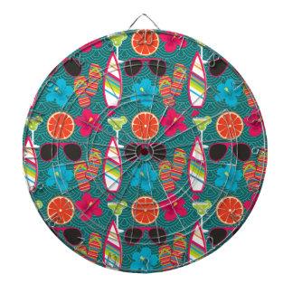 Azul de la pelota de playa de las gafas de sol de  tabla dardos