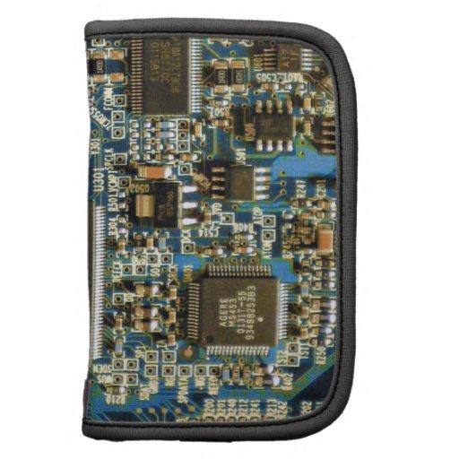 Azul de la placa de circuito de la impulsión dura  planificador