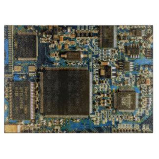 Azul de la placa de circuito de la impulsión dura tabla para cortar