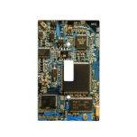 Azul de la placa de circuito de la impulsión dura  cubierta para interruptor