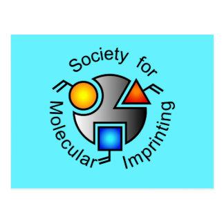 Azul de la postal del logotipo del SMI