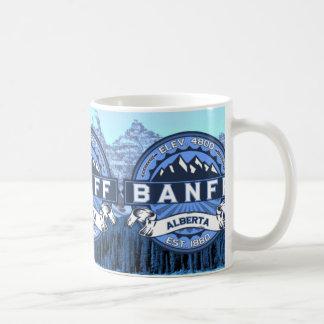 Azul de la taza de Banff