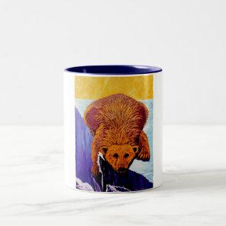 Azul de la taza del oso polar