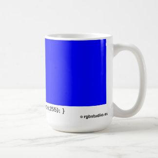 Azul de la taza del RGB (stylesheet del CSS)