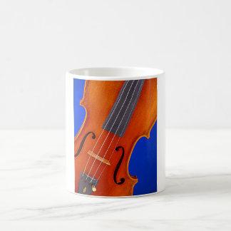 Azul de la taza o de Stein del violín o de café de