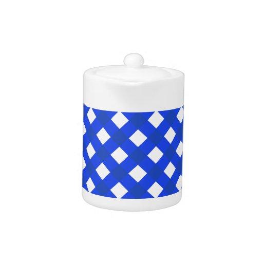 Azul de la tela escocesa 1