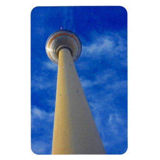 azul de la torre de Berlín Imán