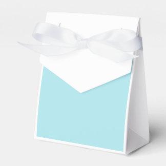 Azul de la ventisca cajas para detalles de boda