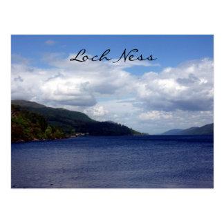 azul de Loch Ness Tarjetas Postales