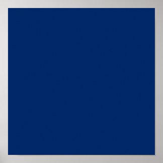 Azul de los E E U U Posters