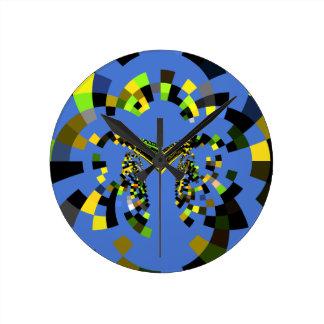 Azul de M Reloj Redondo Mediano