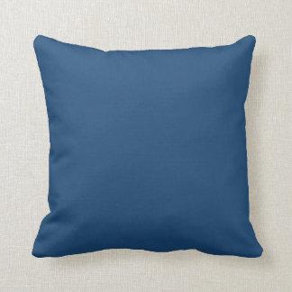 Azul de medianoche almohada
