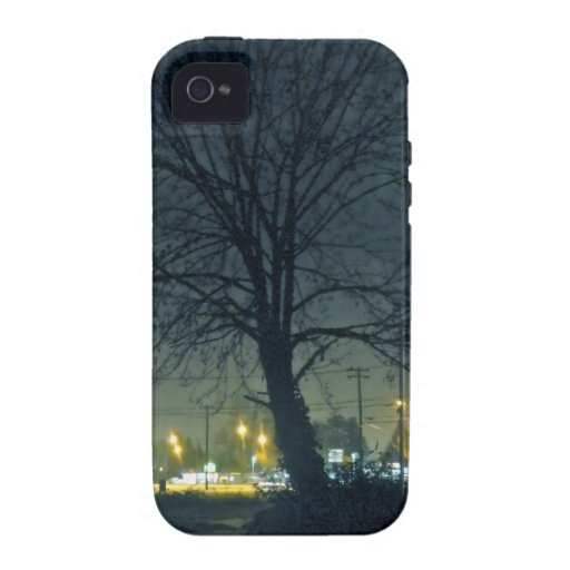 Azul de medianoche iPhone 4/4S funda
