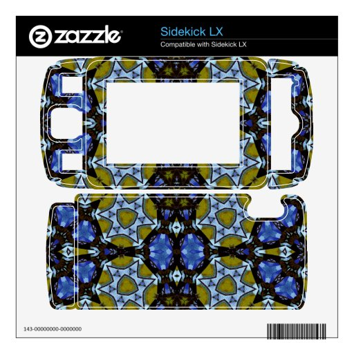 Azul de moda del amarillo del modelo skins para elSidekick LX