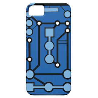 Azul de Motherbox iPhone 5 Cárcasa