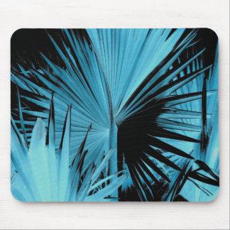 Azul de Mousepad de la palma de Bismarck Alfombrilla De Ratón
