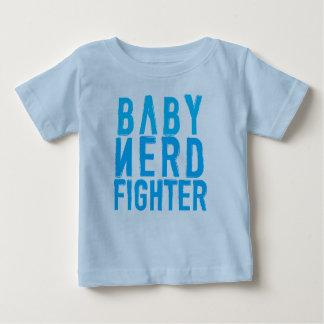 Azul de Nerdfighter del bebé Playera