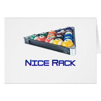 Azul de NiceRack Tarjetas
