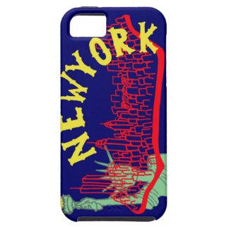 Azul de Nueva York iPhone 5 Case-Mate Protectores