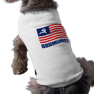Azul de Obamunist Camisetas Mascota