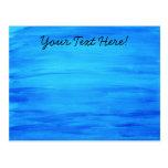 Azul de océano postal