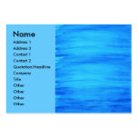 Azul de océano tarjetas de visita grandes