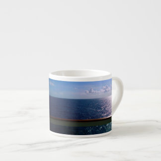 Azul de océano taza espresso