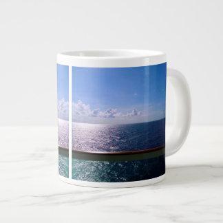 Azul de océano taza grande