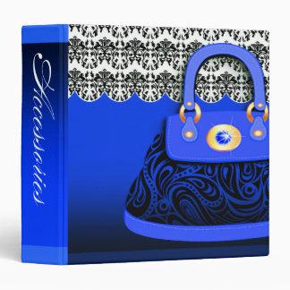 Azul de Paisley del damasco de la moda del fiesta