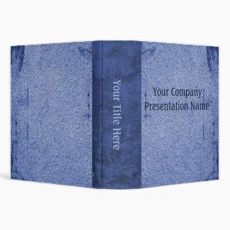 Azul de papel del negocio del vintage