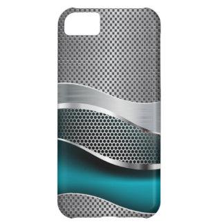 Azul de pavo real futurista de alta tecnología del carcasa para iPhone 5C