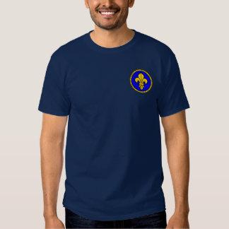Azul de Philip II Augustus y camisa del sello del