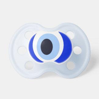 Azul de piedra del mal de ojo chupetes para bebes